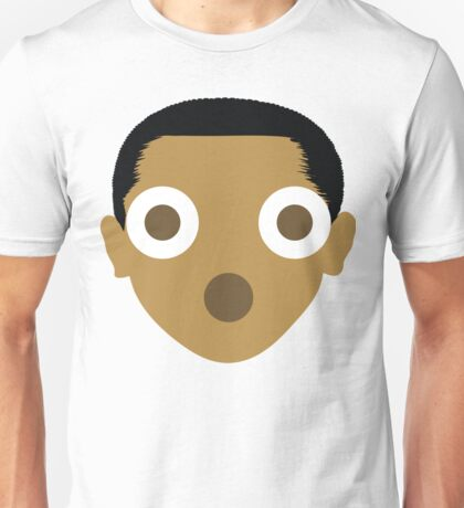 "Barack ""The Emoji"" Obama Shocked and Surprised Face Unisex T-Shirt"
