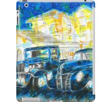 1932 Chevy Truck VS 1940 Ford Deluxe Coupe iPad Case/Skin