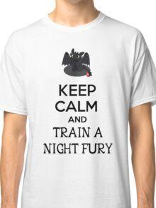 Keep Calm and Train a Night Fury Classic T-Shirt
