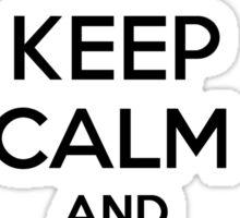 Keep Calm and Train a Night Fury Sticker