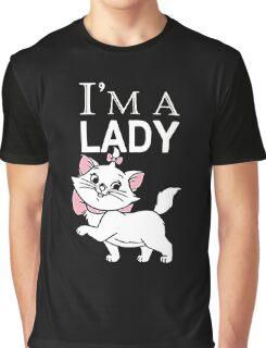 I'm a Lady Aristocats Cat Graphic T-Shirt