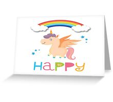 My little Happy Pony! Greeting Card