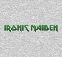 Ironic Maiden Kids Tee
