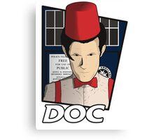 Doc Who?! Canvas Print