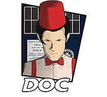 Doc Who?! Photographic Print
