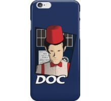 Doc Who?! iPhone Case/Skin