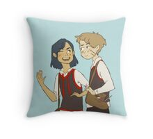 Padfoot n Moony Throw Pillow
