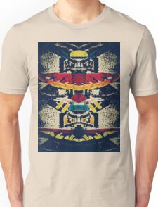 Good Luck Totem Pole, Abstract Unisex T-Shirt