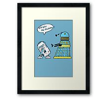 are you my mummy? (sketch) Framed Print