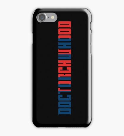 Doctorchwhood iPhone Case/Skin