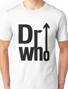 Doctor (The) Who - Black Unisex T-Shirt