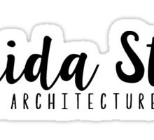 Florida State Interior Architecture + Design Sticker