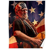 The Legend Of Willie Nelson Poster