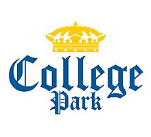 College Park Corona Logo Photographic Print