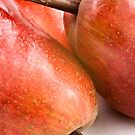 Red Pears by Ellesscee