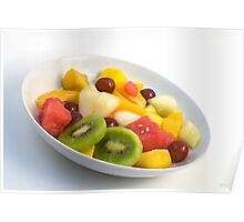 Fresh Fruits Poster