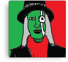 The Hitcher - Mighty Boosh Canvas Print