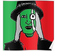 The Hitcher - Mighty Boosh Poster