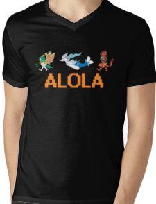 Alolan Starters: Decidueye, Primarina, and Inciniroar! Mens V-Neck T-Shirt