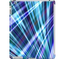 Color & Form Abstract - Blue Light Refraction iPad Case/Skin
