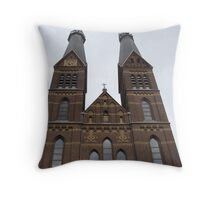 Church Amsterdam Throw Pillow