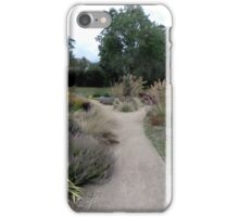 Pathway in the park. iPhone Case/Skin