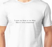 Name of The Wind Unisex T-Shirt