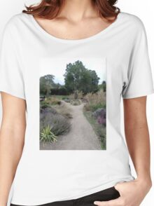 Pathway in the park. Women's Relaxed Fit T-Shirt