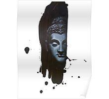 Buddha's Brushstroke Poster