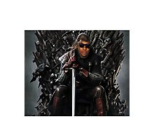 Lil b- King of the Iron Throne. Photographic Print