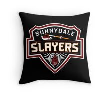 Sunnydale Slayers Throw Pillow