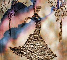 Dancer in the dark 2 by JoAnnFineArt