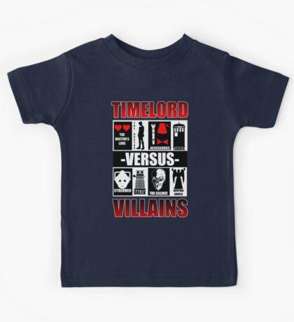 Time versus Villains Kids Clothes
