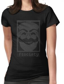 Mr  Robot   Fsociety Dat Womens Fitted T-Shirt