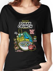 Zorak Cruch Cereal - Space Ghost Women's Relaxed Fit T-Shirt