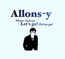 10 says Allons-y! by jmloveridge