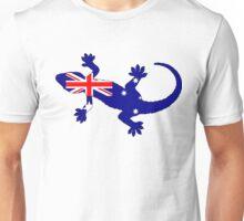 Australian Flag - Gecko Unisex T-Shirt