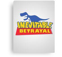 A Story of Inevitable Betrayal Canvas Print
