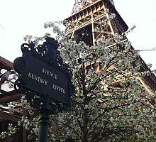 La tour Eiffel  by Malina Radescu