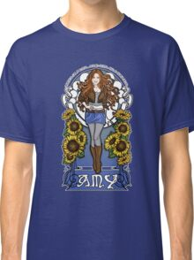 The Girl Who Waited (Amy in sunflowers) Classic T-Shirt