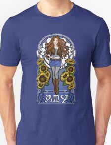 The Girl Who Waited (Amy in sunflowers) T-Shirt
