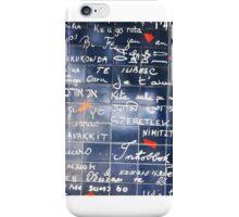 I love you wall iPhone Case/Skin