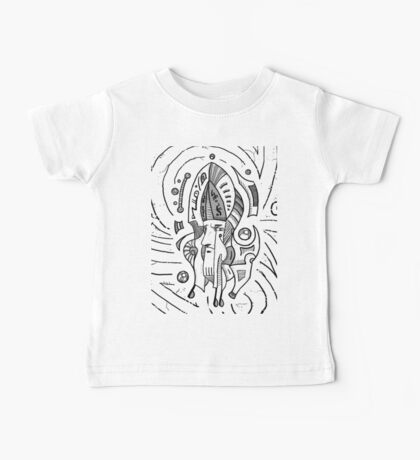 Surrealist Head Baby Tee