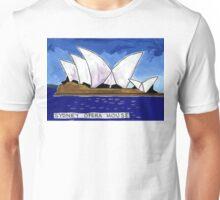 Sydney Opera House Day Unisex T-Shirt