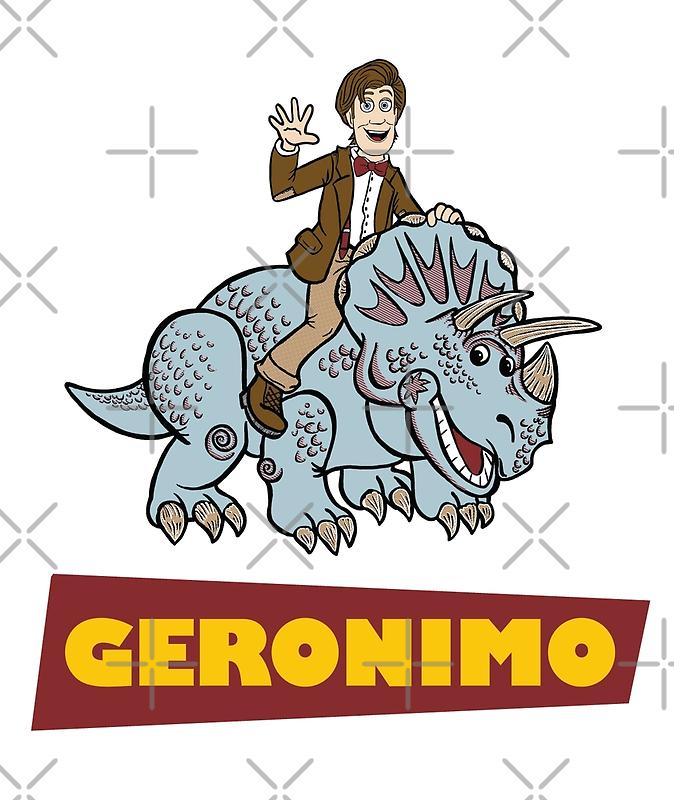 """Geronimo"" by Ameda Nowlin"
