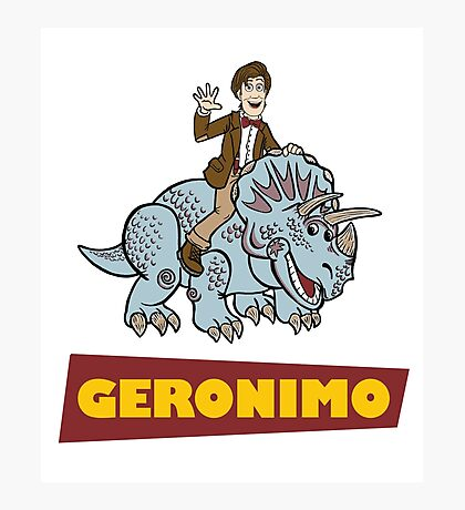 """Geronimo"" Photographic Print"