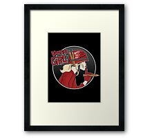 Vampire Girl Framed Print