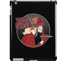 Vampire Girl iPad Case/Skin