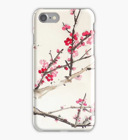 Plum Blossom iPhone Case/Skin