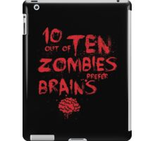 Zombie Facts iPad Case/Skin